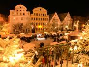 Neuburg: Wintermärchen in der Oberen Altstadt