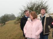 Hochwasserschutz: Beim Ortstermin am Donauhochufer
