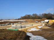 Kreisausschuss: Der Winter hat die Baustelle im Griff