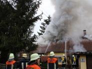 Löpsingen: Ursache für Feuer in Wohnhaus steht fest
