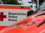 Nördlingen: Schwerer Betriebsunfall: Mann stürzt Treppenhaus hinunter
