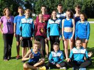 Leichtathletik: Im Dauerregen fünf schwäbische Titel