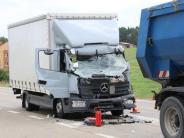 Donau-Ries: B25 nach schwerem Unfall zwei Stunden gesperrt
