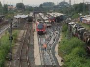 """Verkehr: """"Fugger-Express"""" entgleist in Nördlingen"""
