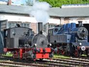 Nördlingen: Großes Dampflokfest im Bayerischen Eisenbahnmuseum