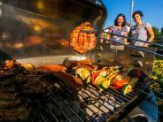 Nördlingen: Das Steak und die pralle Sonne