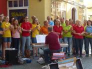 Auftritt: Konzert in der Fußgängerzone