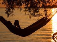 Landkreis: Schmökern in der Sonne