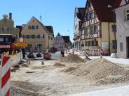 Oettingen: Ende der Baustelle in Sicht