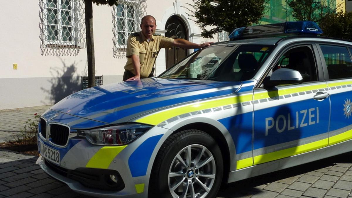 Rain Polizei fährt jetzt auch blau  Augsburger Allgemeine  Rain