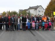 Einweihung: Verkehr frei von Laub nach Polsingen