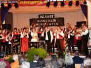 Konzert: Kesseltaler Musikanten feiern Jubiläum