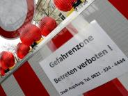 Fliegerbombe in Augsburg: Wer bleibt, riskiert sein Leben