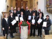 Jubiläum: Ein Kirchenchor wird 80