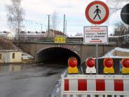 Nördlingen: Kein Durchkommen beim Wemdinger Tunnel