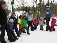 Utzmemmingen: Waldkindergarten: Bewegung gegen die Minusgrade