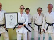 : Wemdinger Karatekämpfer:Fünf Prozent Sehkraft, 100Prozent Einsatz
