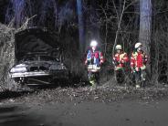 Gosheim: Auto mit fünf jungen Leuten überschlägt sich