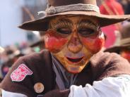 Närrische Zeit: Faschingsumzug: Megesheimer Maskerade