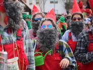 Fasching: Tausende Besucher erleben den Megesheimer Faschingsumzug