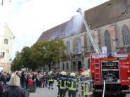 Feuerwehr: Feuerwehreinsätze im Kreis Donau-Riesnehmen zu