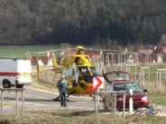 Polizeireport: Rad-Unfall: 83-Jährige schwer verletzt