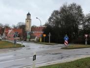 Straßen: Neuer Kreisverkehr in der Wörnitzstadt