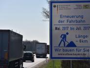 Verkehr: Wieder sind Bundesstraßen blockiert