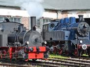 Nördlingen: Die Eisenbahnen fahren wieder