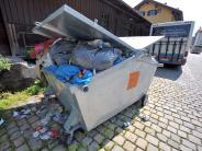 Bopfingen: Senior entsorgt seinen Müll illegal am Friedhof