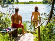 Badesee: Fischer fordern ein Nacktbadeverbot