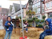 Oettingen: Osterhasen zum Anfassen