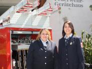 Ehrenamt: Zwei Frauen führen die Wehr