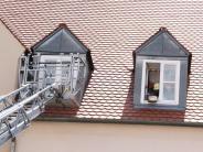 Nördlingen: Kochtopf vergessen: Feuerwehr rückt aus