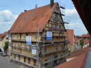 Bauwerk: Ein Zeugnis vergangener Zeit in Nördlingen