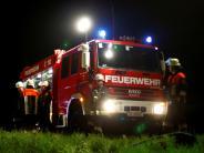 Polizei: In Bopfingen brannten Mülltonnen aus