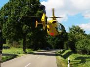 Motorradunfall: Schwer verletzt nach Sturz auf kurvenreicher Strecke