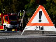 Löpsingen: 45.000 Euro Sachschaden bei Unfall auf B466