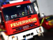 Bopfingen: Lastwagen bleibt an Stromkabel hängen