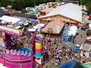Volksfest: Mit Strohhut auf die Mess'