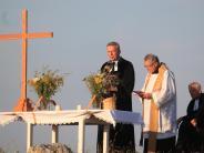 Gottesdienst: Gedenken auf einstigem Schlachtfeld