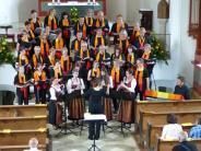 Konzert: Sangesfreude und instrumentale Kunst