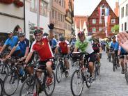 Radltour 2017: Nördlingen begeistert auf dem Rad begrüßt