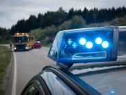 Neresheim: Auto überschlägt sich und bleibt auf Dach liegen