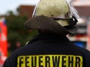 Neresheim: Feuer in Garage greift auf zwei Häuser über