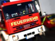 Wallerstein: Kurzschluss löst Feuerwehreinsatz aus