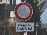 Verkehr: Straße zwischen Megesheim und Lerchenbühl für fünf Wochen gesperrt