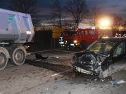 Reimlingen: B25 eineinhalb Stunden gesperrt: 20-Jährige verletzt