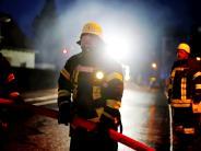 Marktoffingen: Daunenkissen auf Herd in Brand geraten