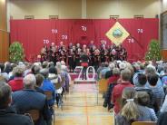 Konzert II: Ein Chor wird 70 Jahre alt